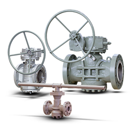 pressure balanced lubricated plug valves-api 6d