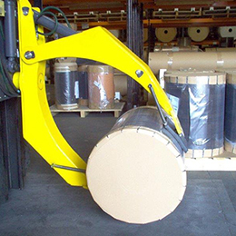90 rotating paper roll clamps