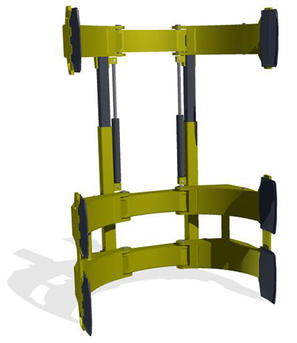 TOWER CLAMPING