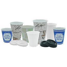 Hot Drink Cups-Lids