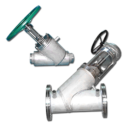 in-line disc and piston valves