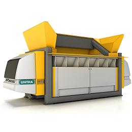 XR3000  waste shredder