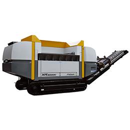 XR3000 mobil-e shredding system