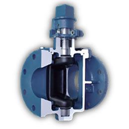 cam-centric plug valves