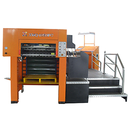 xmq-1050fc automatic die cutting and hot foil stamping machine