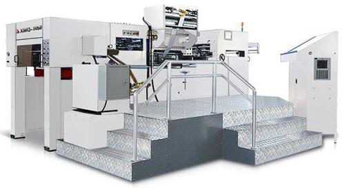 XMQ-1050FCH HOT FOIL STAMPING MACHINE WITH HOLOGRAM