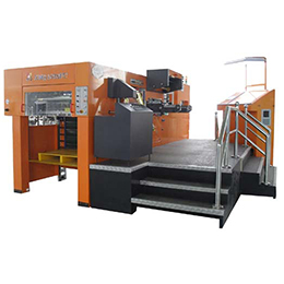 xmq-1050fh automatic die cutting and hot foil stamping machine with hologram