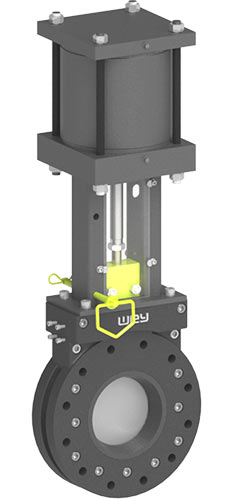 A3/W0/W1/W2/W3 Series knife gate valves